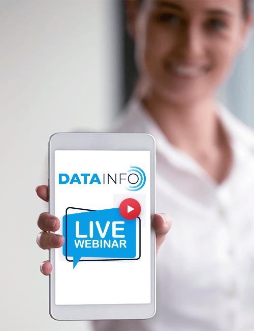 Datainfo - brezplačna e-knjiga in brezplačni webinar GDPR.