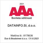 Boniteta odličnosti AAA, Datainfo.si